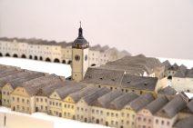 Model historického centra města