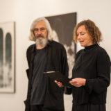 Fotoreportáž z vernisáže výstavy Jiří Voves – Vrstvy zapomnění