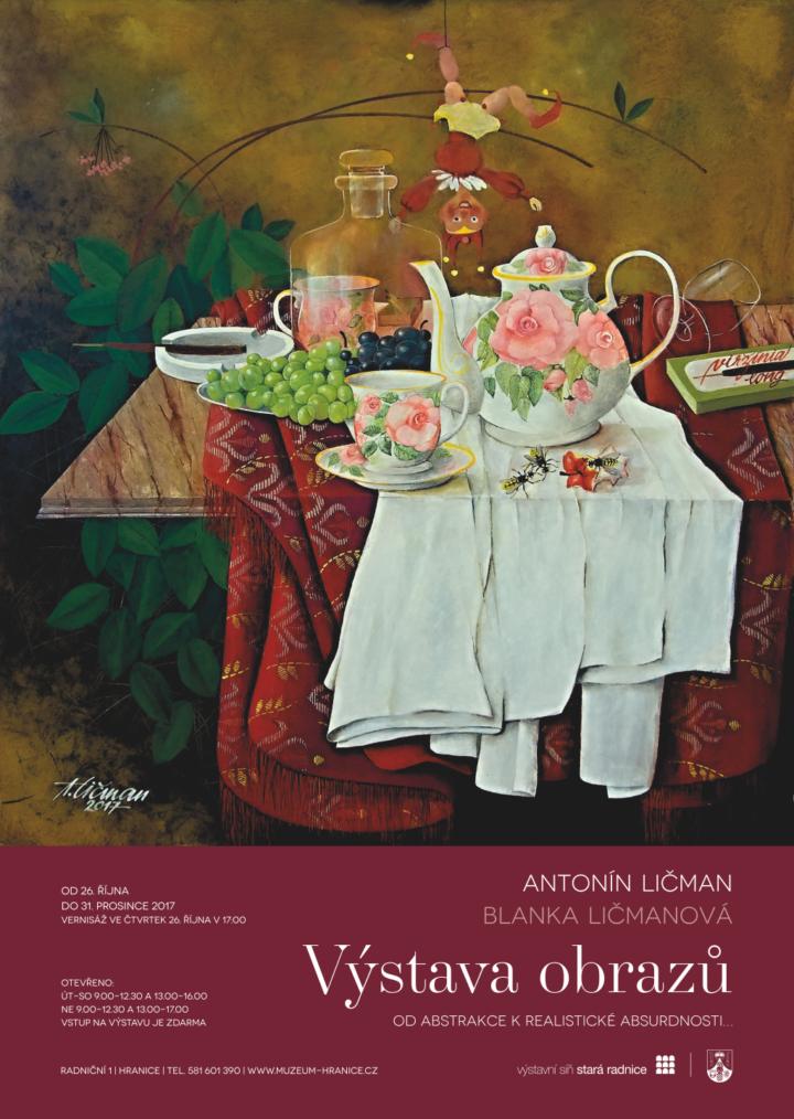 Antonín Ličman, Blanka Ličmanová – Od abstrakce k realistické absurdnosti…