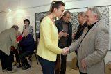 Fotoreportáž z vernisáže výstavy Radovan Langer – (Re)vize 2017 / fotogalerie / foto: Jiří Necid