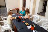 Děti si vyráběly svou vlastní medaili / fotogalerie / foto: Dagmar Holcová