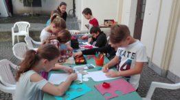 Žáci ZŠ Šromotovo vytvářeli medaile a bavili se u kvízové hry