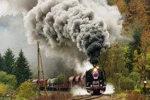 Vlaky na fotkách