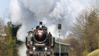 Vlaky na fotkách. K VIDĚNÍ JEN 6 DNÍ! / fotogalerie / Vlaky a život železnici na fotografiích Miroslava Volka