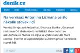 Napsali o nás… / fotogalerie / autor: Deník/Jan Nuc