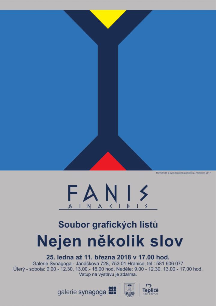 Fanis Ainacidis – Nejen několik slov