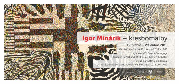 Igor Minárik – Kresbomaľby