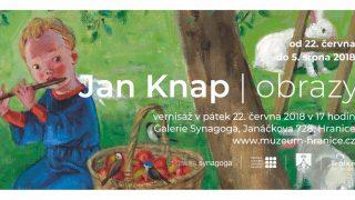 Jan Knap – obrazy / fotogalerie / Výstava obrazů Jana Knapa - pozvánka