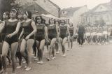 Sokoli rozhýbali život ve městě / fotogalerie / Okrskove kolo spartakiady v Hranicich v roce 1965, foto: archiv hranického muzea