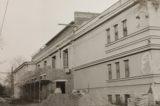 Sokoli rozhýbali život ve městě / fotogalerie / Oprava sokolovny po požáru v roce 1974, foto: archiv hranického muzea