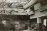 Sokoli rozhýbali život ve městě / fotogalerie / Oprava vyhořelé sokolovny v roce 1974, foto: archiv hranického muzea