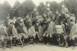 Sokoli rozhýbali život ve městě / fotogalerie / V roce 1921 bylo v sokolské zahradě, kterou odkázal Sokolům František Šromota,  upraveno cvičiště. Snímek je z roku 1922, foto: sbírky hranického muzea