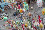 Hranické náměstí opět zdobí kraslicovník / fotogalerie / Kraslicovník na Masarykově náměstí, foto: Ivana Žáková