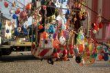 Hranické náměstí opět zdobí kraslicovník / fotogalerie / Zdobení kraslicovníku, foto: Dagmar Holcová