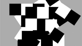 Viktor Hulík – Geometrica / fotogalerie / Variácie so štvorcami A, 2007, počítačová grafika, foto: archiv autora