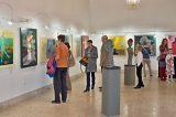 Barevné příběhy Radovana Veselého v muzeu / fotogalerie / Vernisáž výstavy Radovana Veselého - Barevné příběhy, foto: Jiří Necid