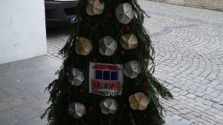 Výstava vánočních stromků / fotogalerie / ZŠ a MŠ Drahtouše, foto: Ivana Žáková