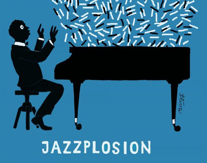 Vernisáž k výstavě Jazz pro oči  – grafiky Jiřího Slívy