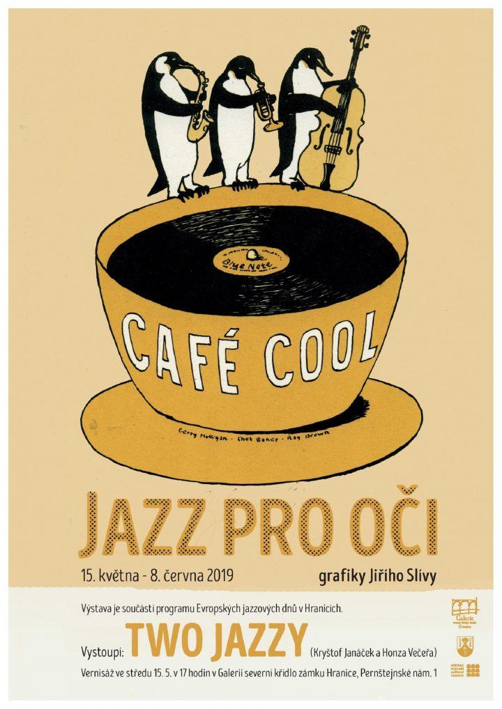 Výstava Jazz pro oči – grafiky Jiřího Slívy