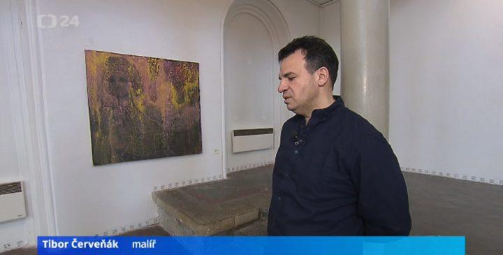 Malíř Tibor Červeňák v reportáži České televize