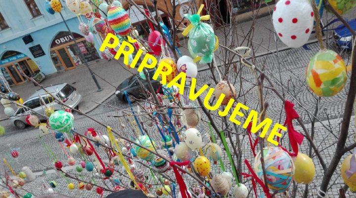 Kraslicovník na Masarykově náměstí