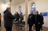 Vernisáž výstavy Ondřeje Michálka v synagoze / fotogalerie / Vernisáž výstavy Ondřeje Michálka - Nové labyrinty, foto: Jiří Necid