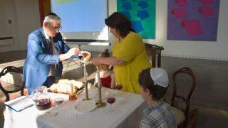 V Galerii Synagoga se slavil Šabat
