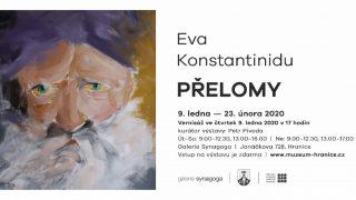 Eva Konstantinidu – Přelomy / fotogalerie / Eva Konstantinidu - Přelomy - pozvánka