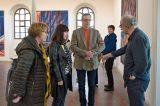 Obrazy Tomáše Švédy v Galerii Synagoga / fotogalerie / Vernisáž výstavy Tomáše Švédy, foto: Jiří Necid