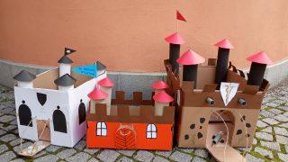 Vítězové soutěže Výroba středověkého hradu