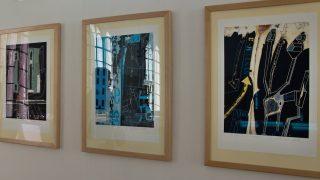 Fotoreportáž z vernisáže výstavy Eduarda Ovčáčka: Šifry & citace