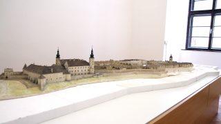 Model historického centra města / fotogalerie / foto: Jan Holpuch