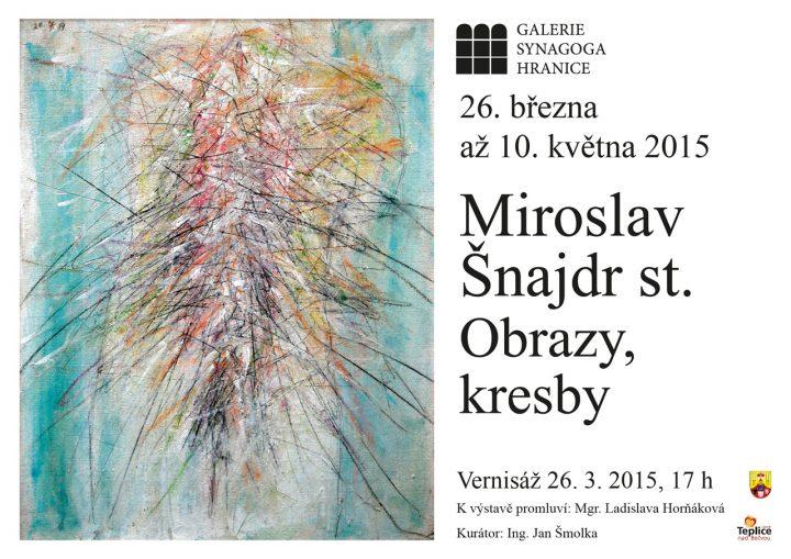 Miroslav Šnajdr st. – Obrazy, kresby