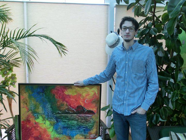 Výstava obrazů Jakuba Čočka – Barevný svět