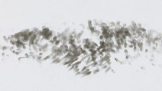 Peter Kotvan – Commutatio / fotogalerie / Peter Kotvan - F.Chopin - Preludium As dur, graphite on paper, foto: archiv autora