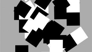 Viktor Hulík – Geometrica / fotogalerie / Variácie so štvorcami B, 2007, počítačová grafika, foto: archiv autora