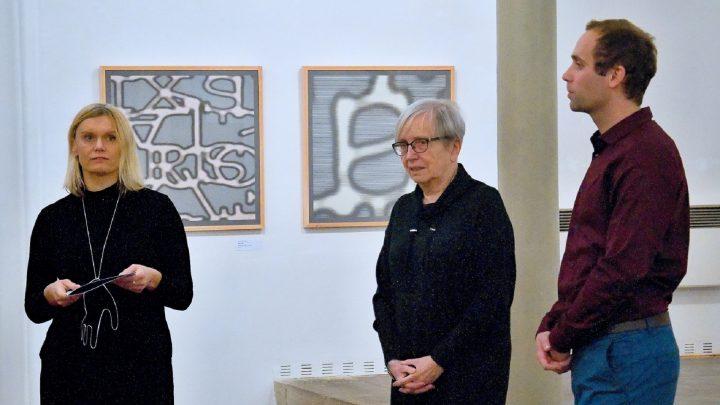 Vernisáž výstavy Jaroslavy Severové v synagoze