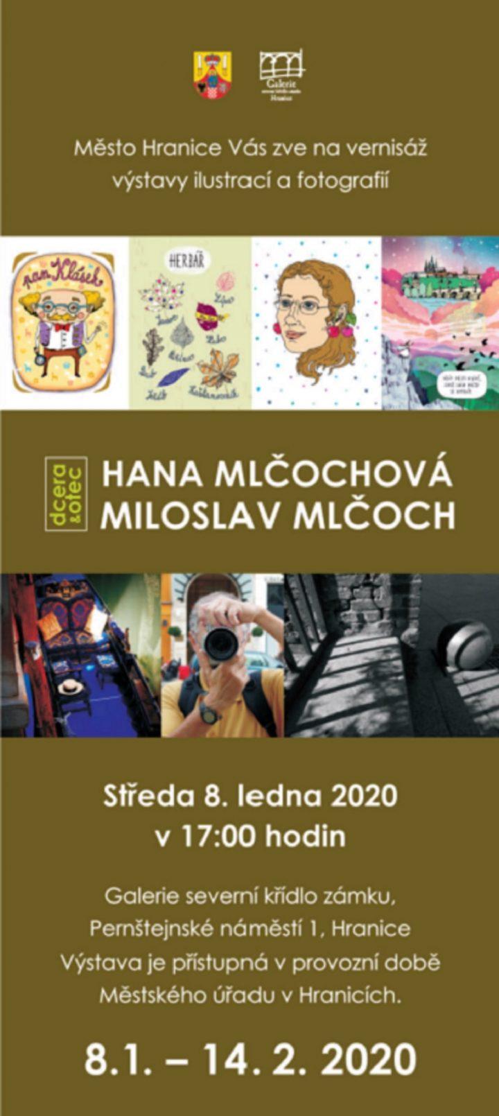 Hana a Miloslav Mlčochovi – Ilustrace a fotografie