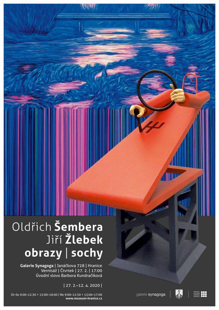 Oldřich Šembera / Jiří Žlebek – obrazy / sochy