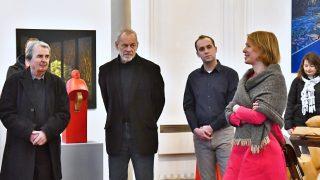 Oldřich Šembera a Jiří Žlebek v Galerii Synagoga