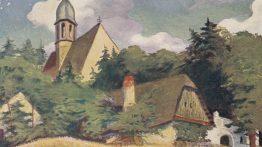 Z muzejních sbírek: Kostelíček v obrazech