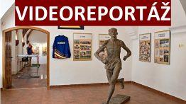 Videoreportáž výstavy Královna sportu