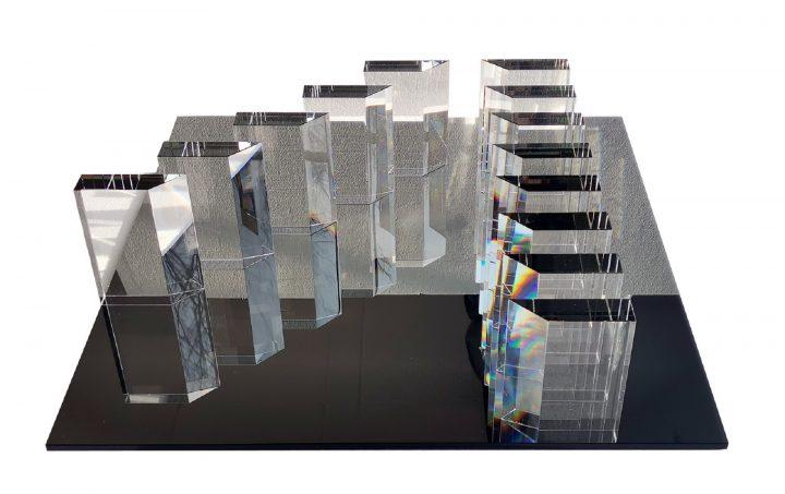 Otevření výstavy Václav Cigler – Skleněné rozvrhy
