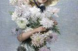 Z muzejních sbírek: Malíř, rytíř, portrétista / fotogalerie / Dívka s chryzanténami, foto: archiv MKZ Hranice