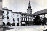 Z muzejních sbírek: Dveře ze Schlesingerovy pekárny / fotogalerie / Dnešní Pernštejnské náměstí, foto: sbírky hranického muzea