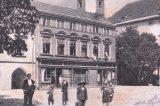 Z muzejních sbírek: Dveře ze Schlesingerovy pekárny / fotogalerie / Schlesingerova pekárn, foto: sbírky hranického muzea