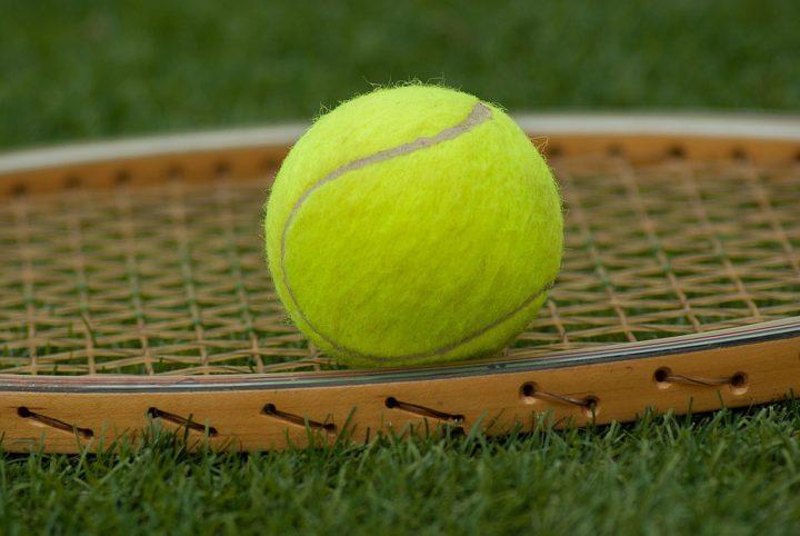 Otevření výstavy Tenis