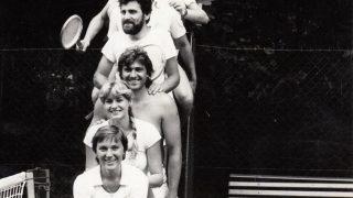 Tenis / fotogalerie / Tenis v Hranicích v roce 1981, foto: sbírky hranického muzea