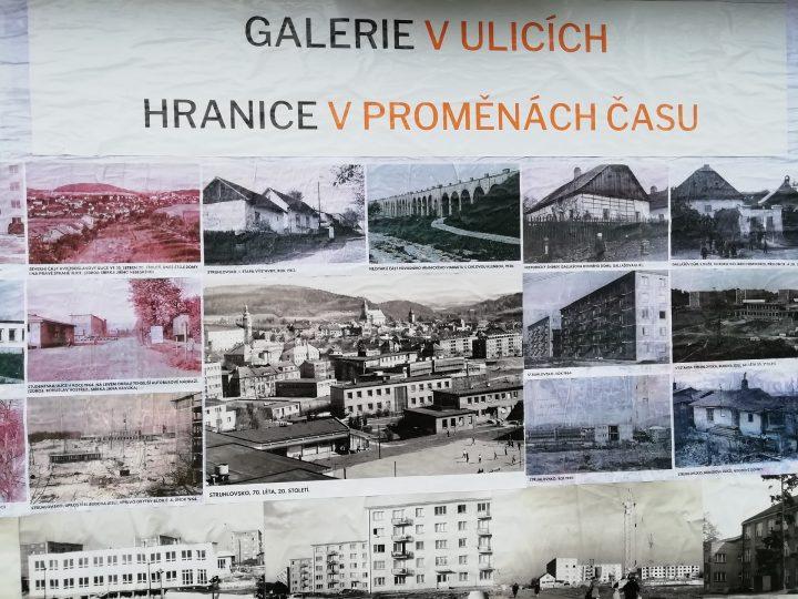 Hranice oživuje výstava Galerie v ulicích města