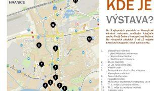 Galerie v ulicích města / fotogalerie / Mapa s výlepovými plochami